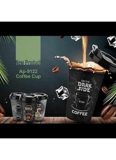 Akayev Titiz Coffee Bardak 400 Ml Karma Model Tekli Renkli